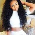 3B 3C Indio Kinky Curly Hair Bundles 4 Bundle Pelo Glamour Max 7A Indio Rizado Pelo Virginal rizado Afro Rizado Rizado Armadura Del Pelo Humano