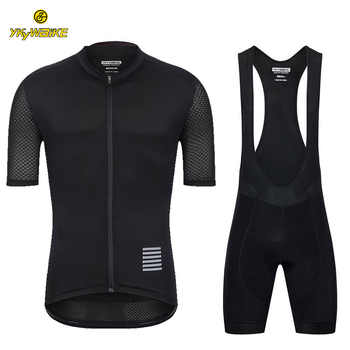YKYWBIKE Cycling Clothing Men High Quality Cycling Set Maillot Ciclismo Bike Jersey Set 2019 Pro Team Breathable Summer Clothing - DISCOUNT ITEM  35% OFF Sports & Entertainment