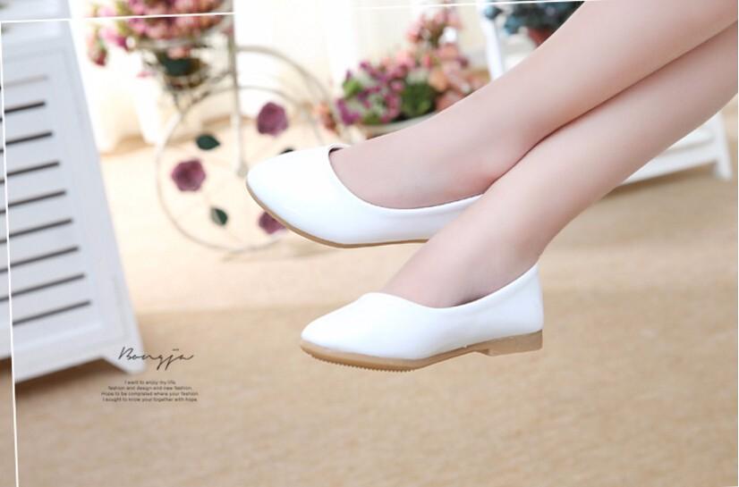 girl leather shoe-23