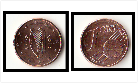 UNC IRELAND FIVE PENCE 1974 FREE SHIPPING.