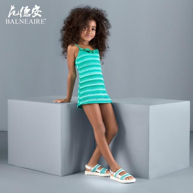 Blaneaire Girls Beach dress Kids Swimwear 3-12 year old Swimsuit Free  shipping