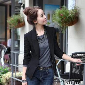 Black blazer Ladies Work Wear Coat jacket