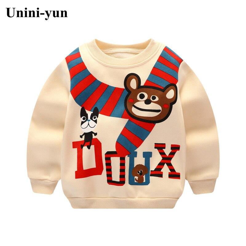 100% QualitäT Unini-yunboys Shirts Farbe Cartoon T-shirt Für Mädchen Baumwolle Mädchen Tops Kind Hemd Candy Farbe Kinder Bluse Schule Baby Sweatshirt