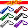 1Dozen Mini Small LED Flashlight Torch Clip Key Chain Camping Hiking Glare MAZ-TEK Mini Led Flashlight