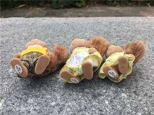 Image 3 - Geniune Sylvanian Families Fuzzy Dolls Action Figures Squirrels Family 3pcs Set Toy Animal New No Package