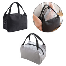New Insulated Canvas Box lunch bag food lunchbox school child Tote Bags Thermal Cooler