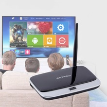 EU/US Plug CS918S Andriod 4.4 Smart TV Box Quad Core 2GB RAM 16GB ROM Built in Bluetooth 3G WIFI Android TV Box Newest