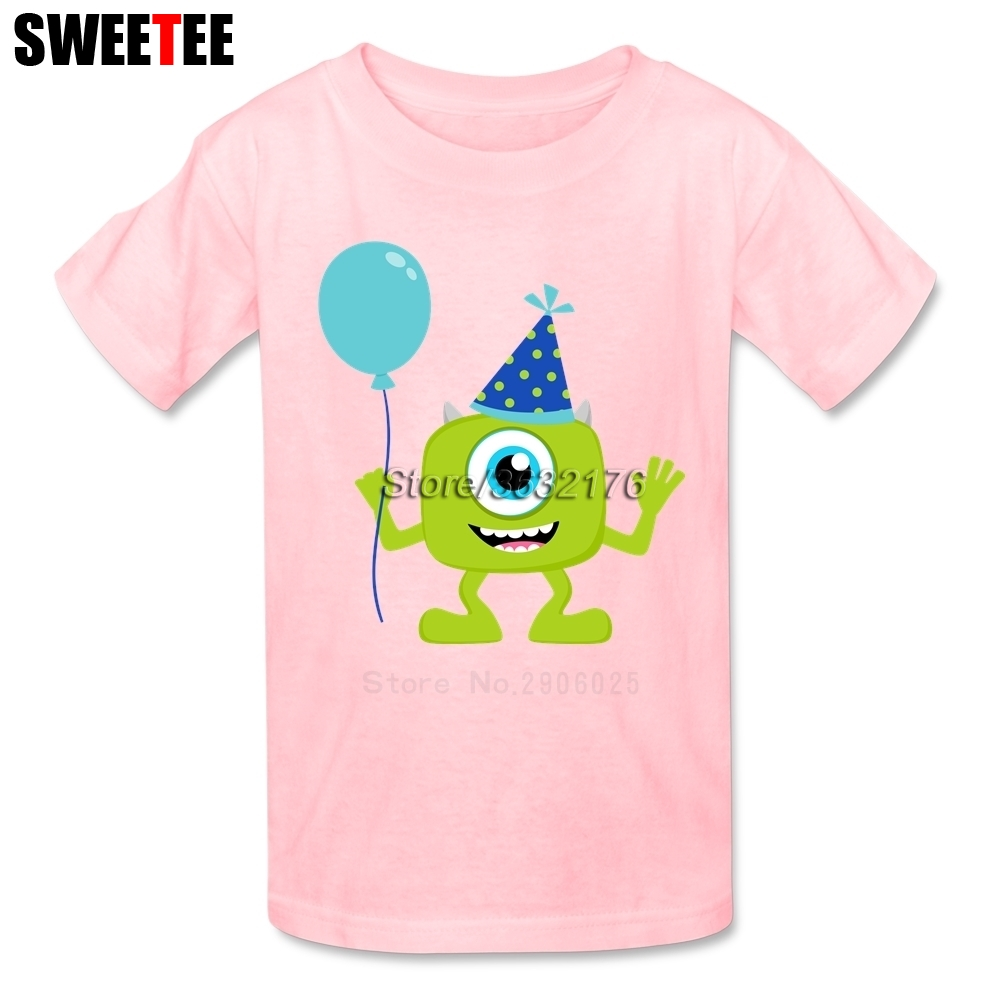 Monsters University Boy Girl T Shirt Baby Teeshirt 2018 Infant Pure Cotton Tshirt O Neck Kid Children T-shirt For Toddler