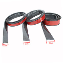 1.5m/4.9ft Rubber Styling Mouldings Car Wheel Arch Protection Moldings Anti-collision Mudguard Auto Sticker