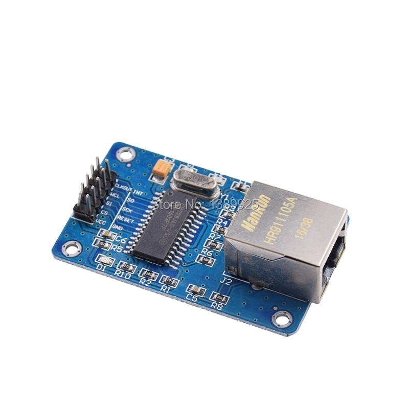 ENC28J60 SPI interface network module Ethernet module (mini version)