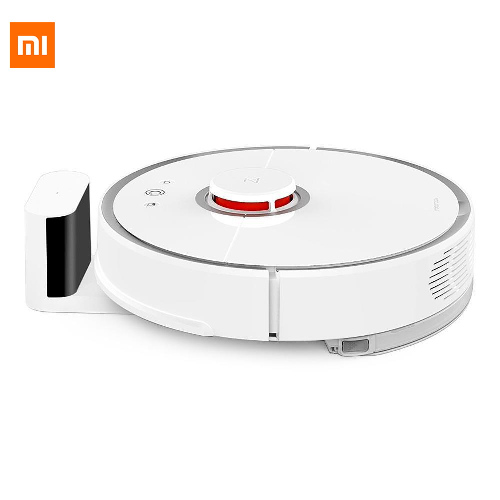 New Original Xiaomi Mi 2nd Cleaning Robot Mop Sweep Laser Path Planning Smart Phone Control Vacuum Cleaner Robot For Smart Home ems dhl post shipping to the world robot vacuum cleaner auto sweep mop one key start robot vacuum