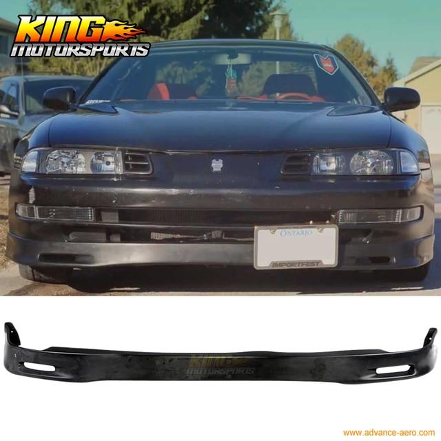 For 92 96 Honda Prelude Spoon Urethane Front Bumper Lip Spoiler Bodykit