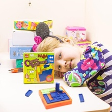 Монтессори классический Tangram IQ головоломка игрушки для детей 46 вызов и решение карты Oyuncak Brinquedos Juguetes Brinquedo