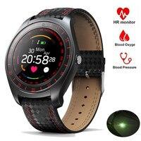 V10 Smart Watch Men Women Bluetooth Pedometer Running Heart Rate Monitor Wristbands Sport Intelligent Watch Fitness Smartwatch