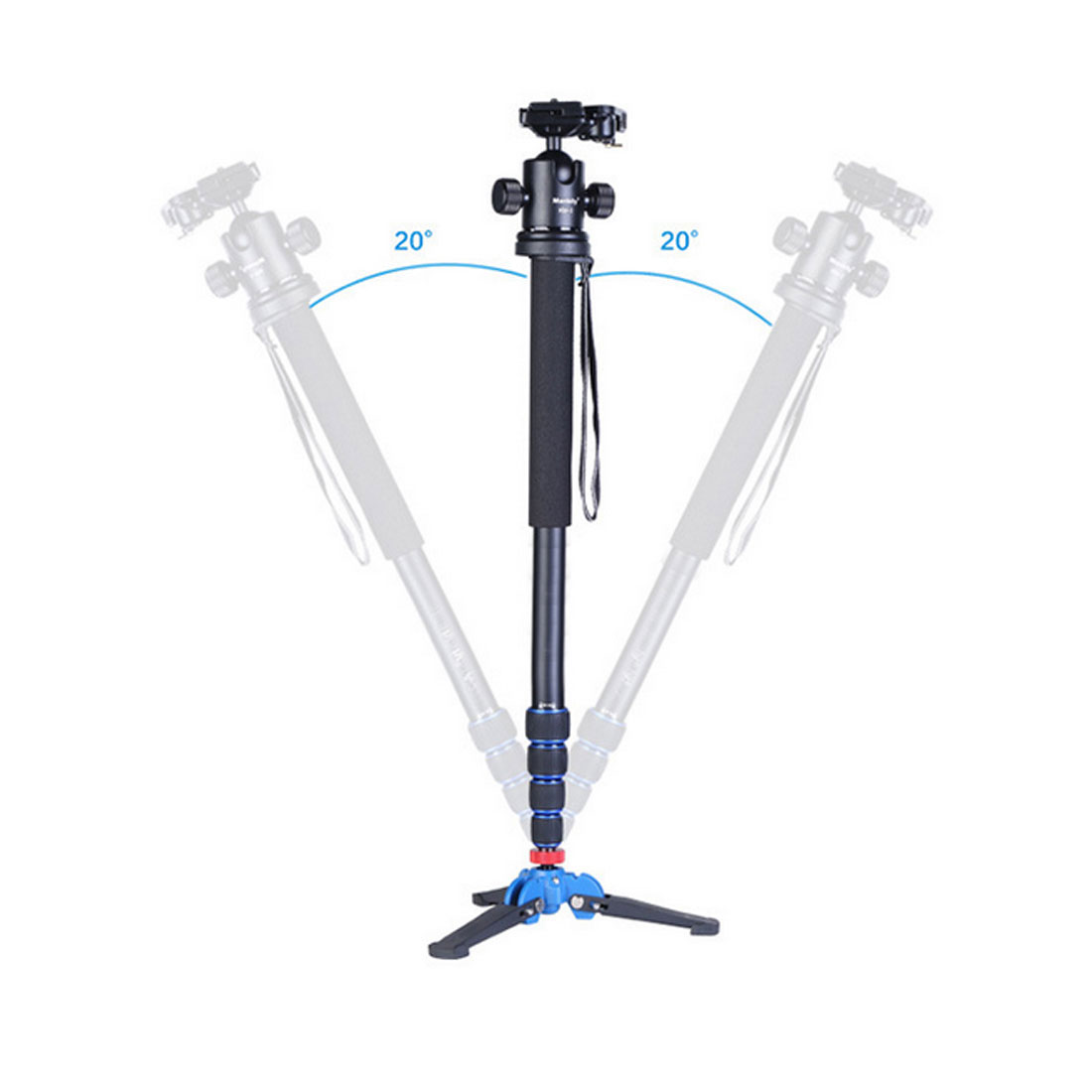 Hot 1pcs Carbon Fiber Camera Monopod Portable Professional DSLR Monopod For Canon Eos Nikon