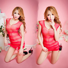 1pc Women's Sexy Lingerie Hot Bodystocking Sexy Dress Underwear Stocking Sex Products Gridding  Erotic Lingerie Sex Toys QQ058