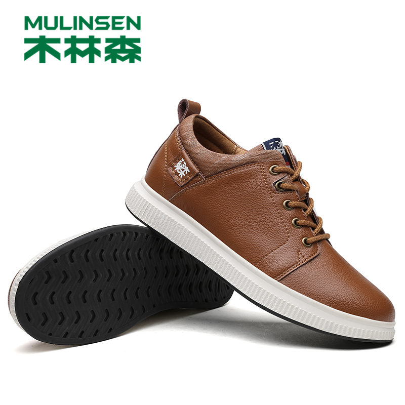 270100 MULINSEN new mens casual shoes oxhide shoes hot sell