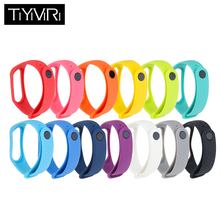 1pc for Mi Band 3 Bracelet Xiaomi Strap Miband Wristband Accessories Colorful
