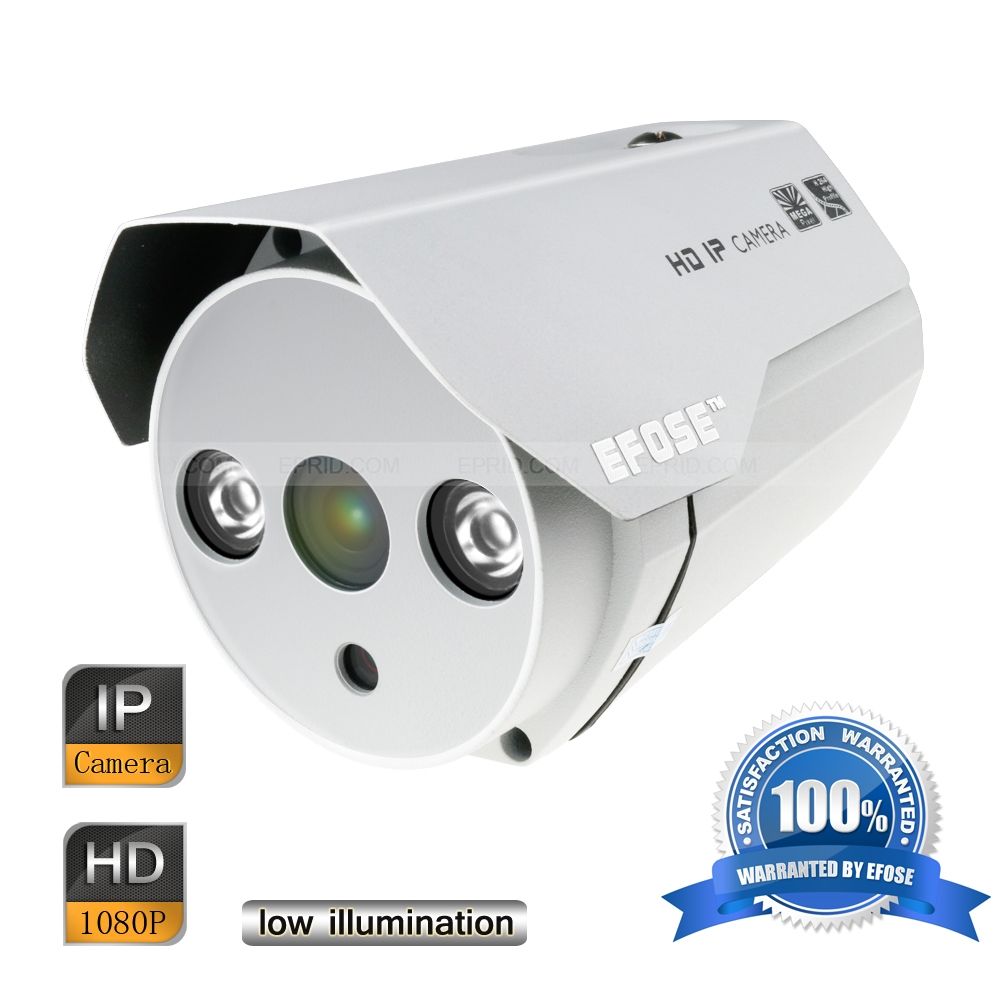 EFOSE FO-3IB212-N 2MP Full HD Network Mini IR Bullet 3.6mm Camera Outdoor HD 1080P Low Illumination 1000pcs s9014c to 92 s9014 npn transistor