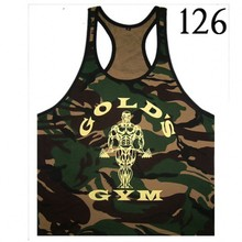 Military Style Camouflage Bodybuilding Tank Top