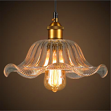 Glass Edison Style Loft Industrial Pendant Lamp For Home Living Room LED Vintage Lights Fixtures Hanging Light Lamparas american edison loft style rope retro pendant light fixtures for dining room iron hanging lamp vintage industrial lighting