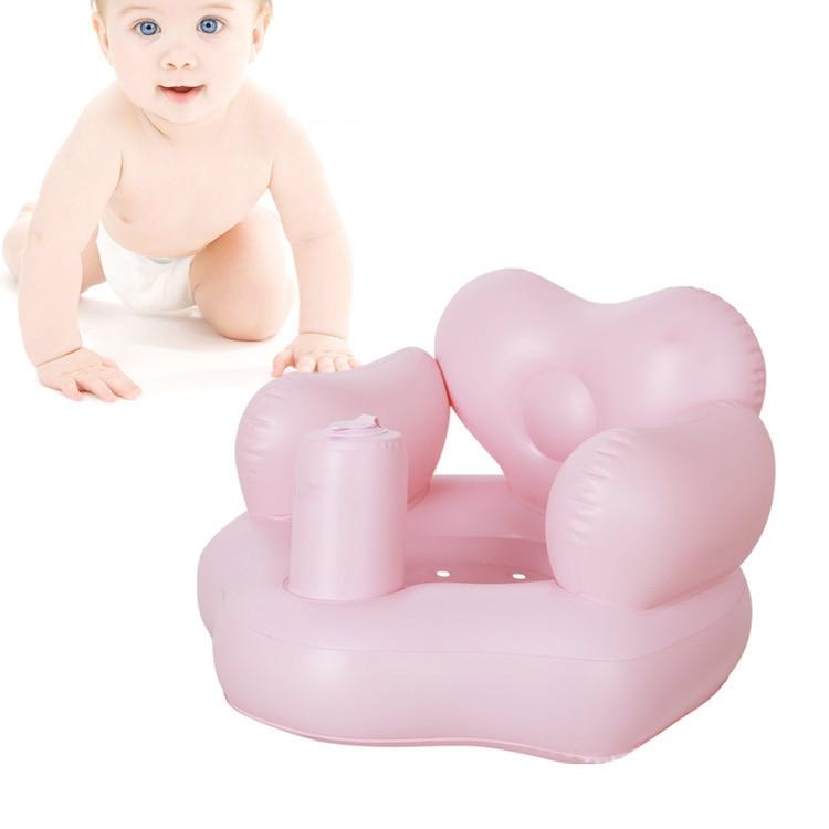 Bad Sitz Stuhl Baby Aufblasbare Sofa Pvc Kinderwagen Baby Stuhl Tragbare Babysitz Spielen Spiel Mat Nette Sicherheit Sofa