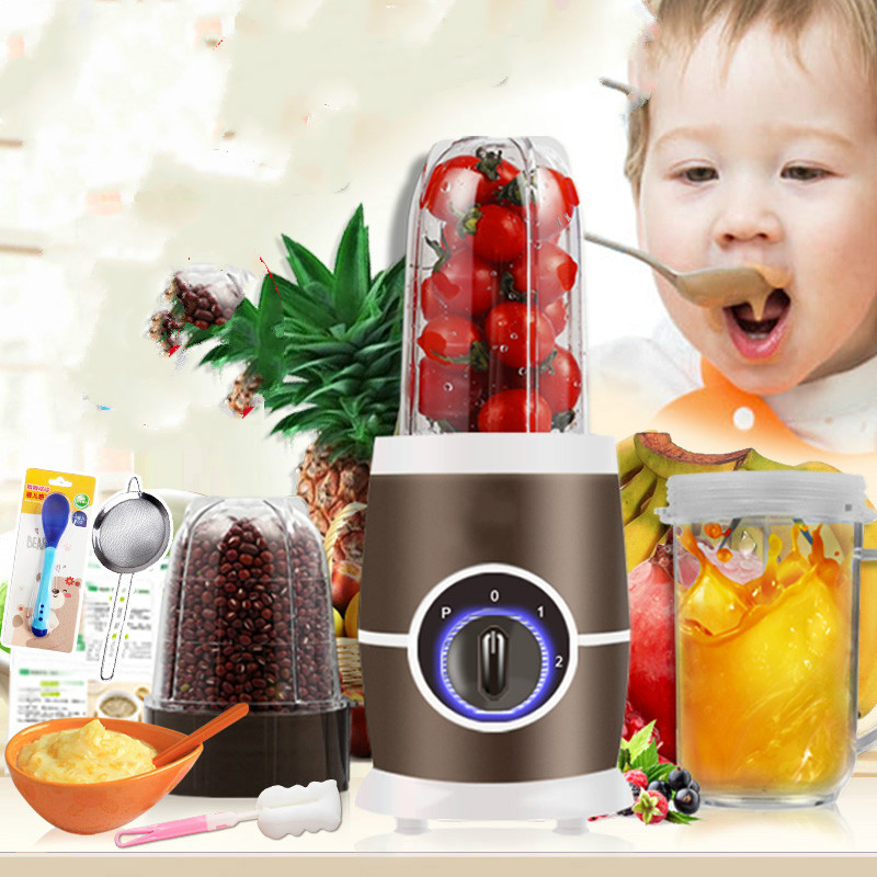 все цены на Blenders Multi - functional food machine household small baby with soy milk grinding and stirring. онлайн