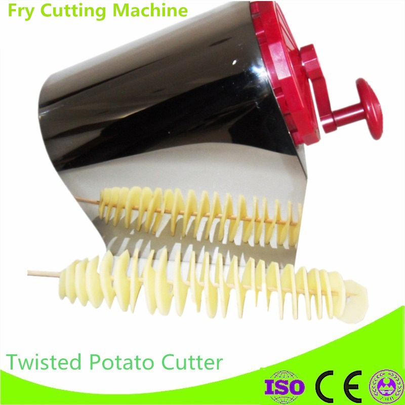 Home Use Multifunctional 3 in 1 Tornado Twist Potato Machine Spiral Potato Chipper Potato Cutter Kitchen Tool 1 pair auto brand emblem logo led lamp laser shadow car door welcome step projector shadow ghost light for audi vw chevys honda page 2