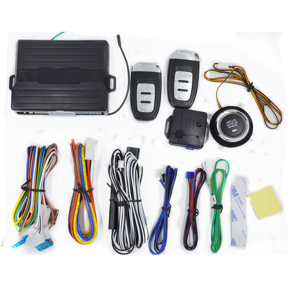 Pke Remote Engine Start System Multi Function Pke Car