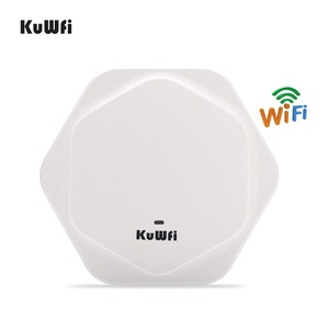 Image 3 - KuWFi 300Mbps Wireless Router Indoor Celling Access Point High Performance Indoor Wifi Router Wireless AP With 48V POE