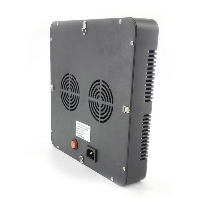 DSHA 300 Вт 100 шт. светодиодный свет для выращивания AC85-265V гидропоники полный спектр Крытый Veg цветок завод лампа панель