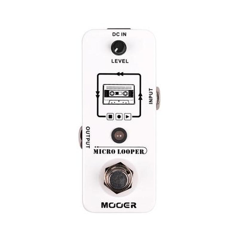 Mooer Micro Looper Effects PedalMooer Micro Looper Effects Pedal