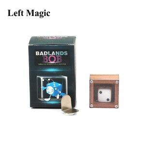 Магические кубики Badland Bob Wood, металлические фокусы, Волшебный реквизит для улицы, таинственный волшебник, аксессуар