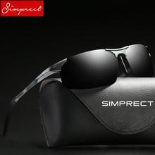 c901ee8571 SIMPRECT 2018 Polarized Sunglasses Men Driver Mirror UV400 HD Sun Glasses
