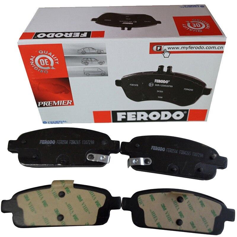 4 шт./компл. ferodo передние тормозные колодки для Mitsubishi Lancer (cg) 16 В EVO IX FDB1282
