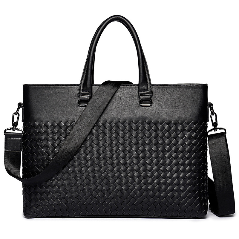 Fashion Bags Men Business Bags Briefcases Casual Men Bags Fashion Braided Briefcases