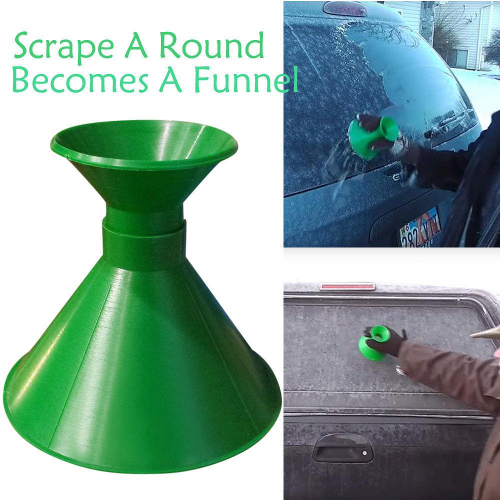 Vehemo лопата для снега щетка размораживающая лопатка для льда автомобильный скребок для снега для электроприборов Снежная мельница запасная - Цвет: Green 1