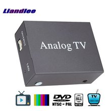 Liandlee Global Car DVD TV Receiver Mobile Analog Tuner Host Box System A-TV Antenna PAL NTSC SECAM Model Analog-T-9224