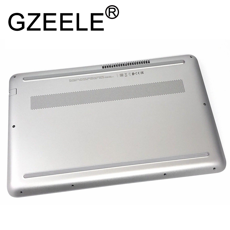GZEELE NEW for HP Pavilion 14 AL SERIES BOTTOM BASE COVER PLASTIC EAG31003A1S SILVER LOWER CASE-in Laptop Bags & Cases from Computer & Office    1