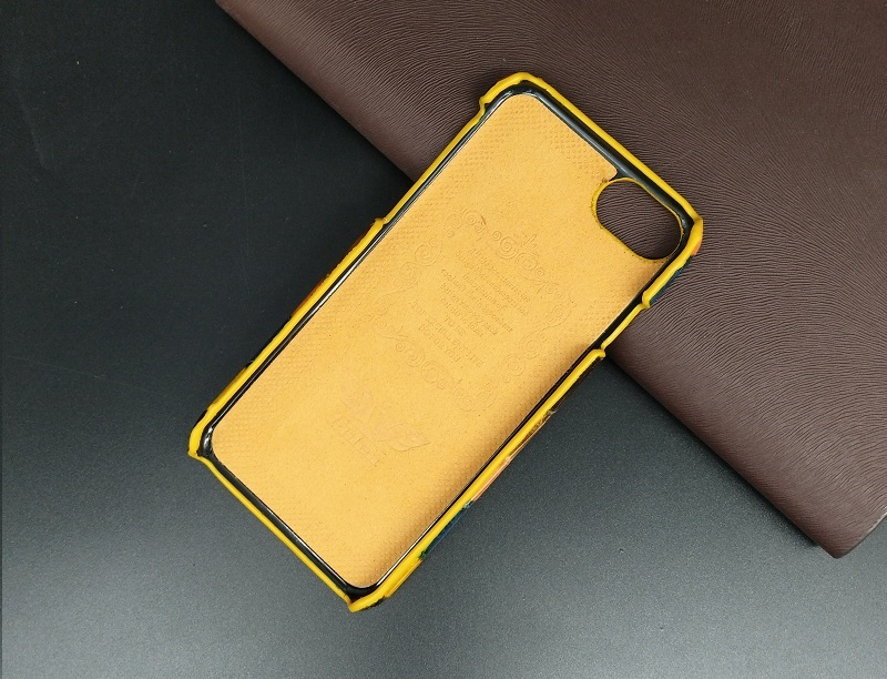 orange coloful real leather case for iPhone 7 cell phone (9)