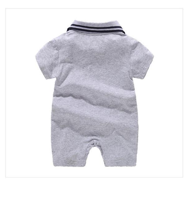Jumpsuit Tanpa Lengan Musim Panas Baby Boy 4