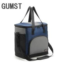 GUMST 25L Thickening Big Capacity Cooler Bag Waterproof Ice Thermal Lunch Picnic Box Insulation Bolsa Termica Grande Storage Bag