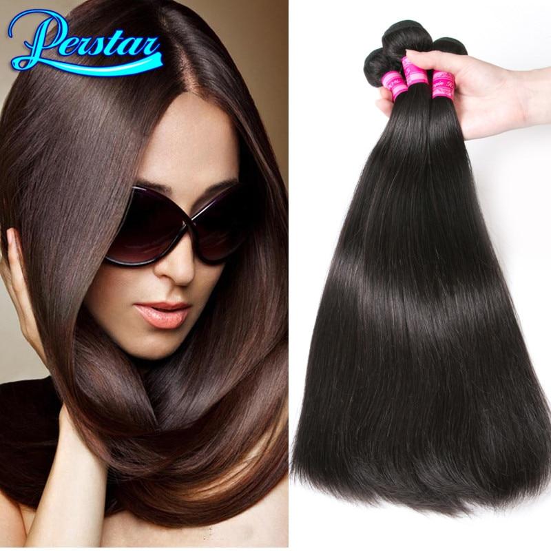 2 Bundles Brazilian Straight Hair Weave 7a Brazilian Virgin Hair