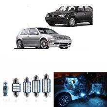 15 pz Canbus HA CONDOTTO La Lampadina Per Il 1999-2004 Volkswagen VW MK4 Golf 4 GTI LED Luci Interne Accessori di Ricambio Kit pacchetto Bianco