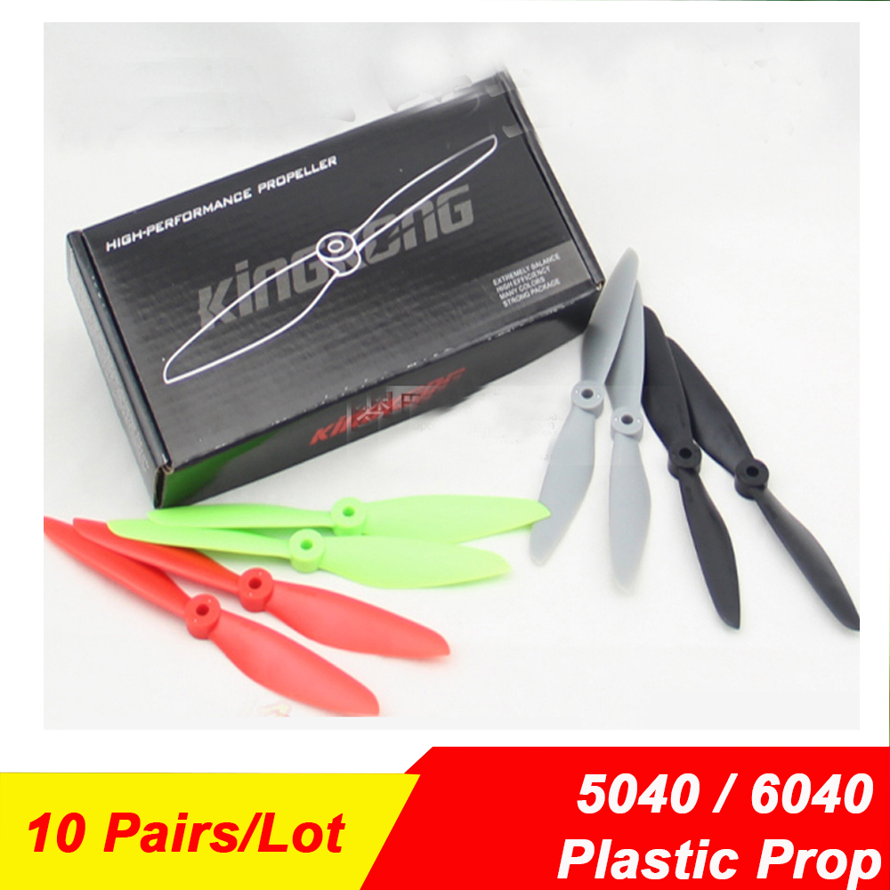 20Pcs Lot KINGKONG 6040 6 4 5040 5 4 High Strength PC Propeller for Robocat 280