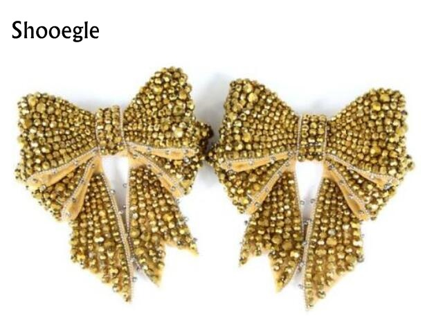 Fashion design Stretch Strap Bow-knot Bling Bling Rhinestone Butterfly-knot Black Gold white pearl For Pumps Sandals Shoes Woman цена 2017