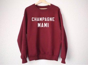 Champagne Mami Sweatshirt - Drake Sweatshirt - Drake Shirt - Champagne Mami Shirt - Drake Gift - Funny Sweatshirt a- E553