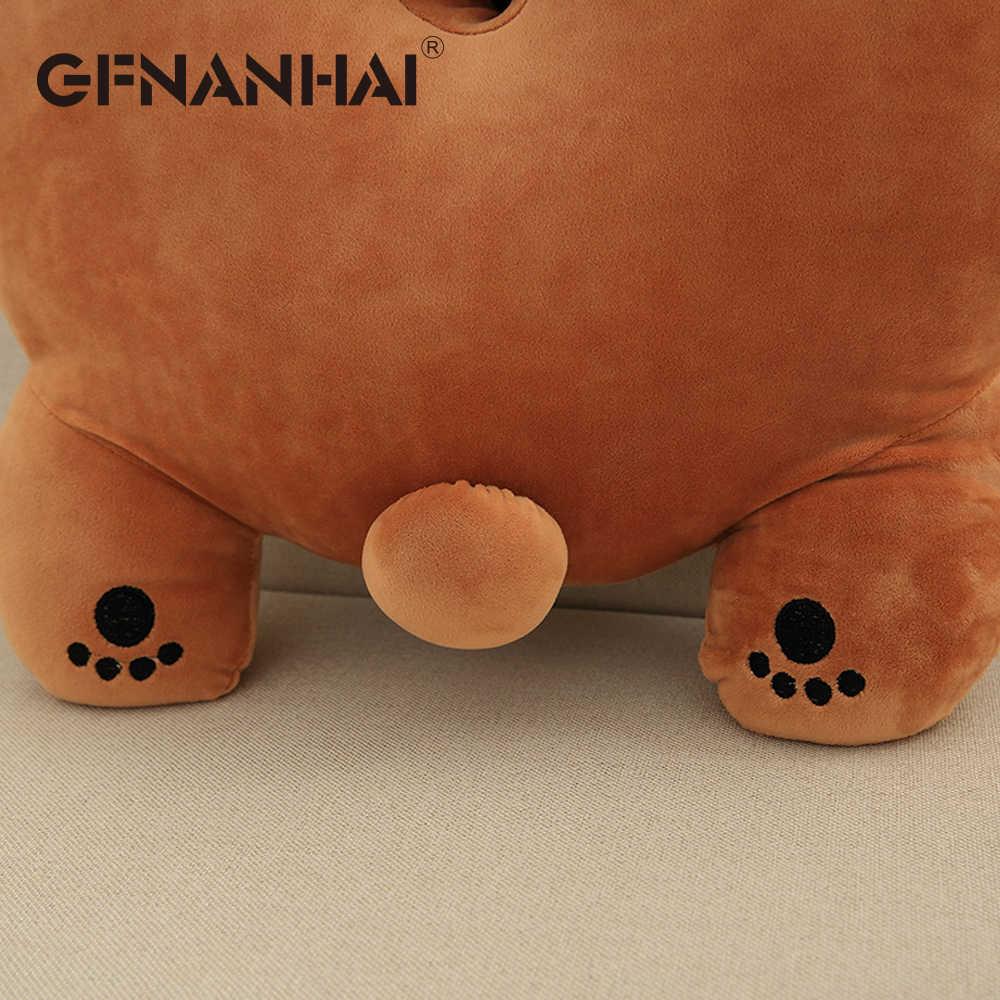 1 шт. 50*50 см милый полярный медведь подушки стыковочные колодки плюшевые игрушки мягкие kawaii пухленькие ворс плюшевые подушки для детей подарок на день рождения