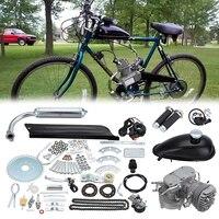 (Доставка от aud) 80cc 2 ход 26 28 Двигатель ized Велосипедный Спорт Двигатель Двигатели для автомобиля комплект велосипед бензин газ Двигатели для