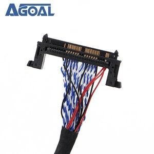 Image 5 - FI RE51P 2 채널 8 비트 듀얼 8 51 핀 LVDS 케이블, LCD 패널 매트릭스 스크린 패널 2 개 모델
